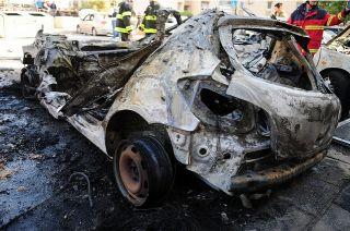 20 ноября, разрушения после обстрела террористами Беэр-Шевы, фото ЦАХАЛ