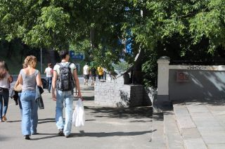 антисемитские граффити в центре Киева, фото Киев еврейский
