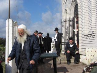 Паломничество на могилу рабби Леви Ицхака из Бердичева