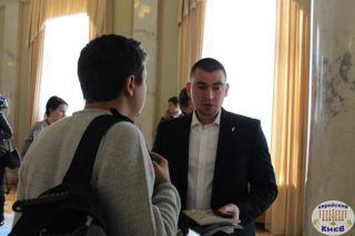 Юрий Михальчишин в Верховной Раде, фото Киев еврейский