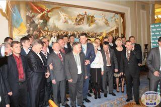 фракция Свободы в ВР, фото Киев еврейский