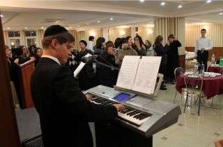 благотворительный вечер, фото Киев еврейский