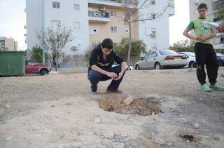 После ракетных обстрелов в Израиле, 17 ноября, фото ЦАХАЛ