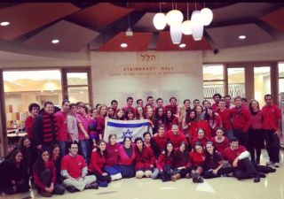 в поддержку Израиля