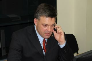 Олег Тягнибок, фото Киев еврейский