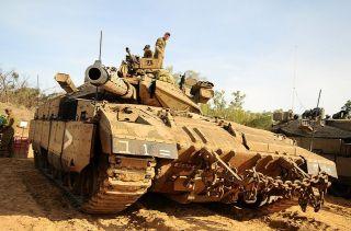 Наземные силы ЦАХАЛА возле границы Газы, фото ЦАХАЛ