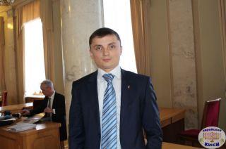 Михаил Головко в Верховной Раде, фото Киев еврейский