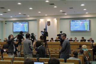 репортеры в ЦВК, фото Киев еврейский