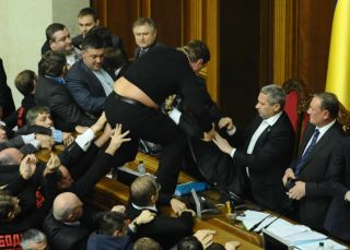 драка в ВР, 12.12.12, фото Киев еврейский