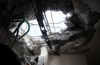После ракетного обстрела, Ашдод, 18 ноября, фото ЦАХАЛ